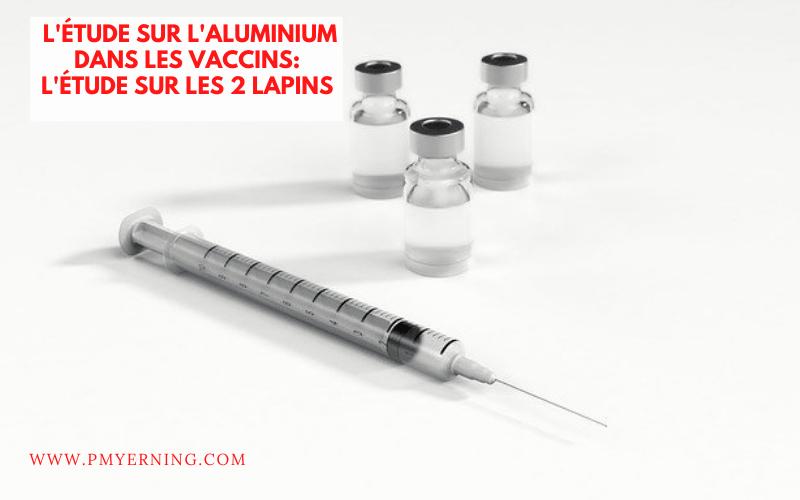 étude aluminium des vaccins