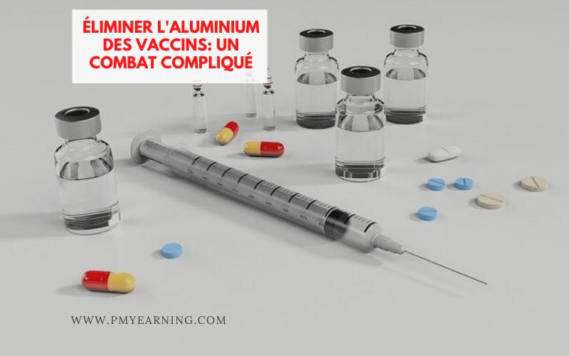 combat et aluminium des vaccins