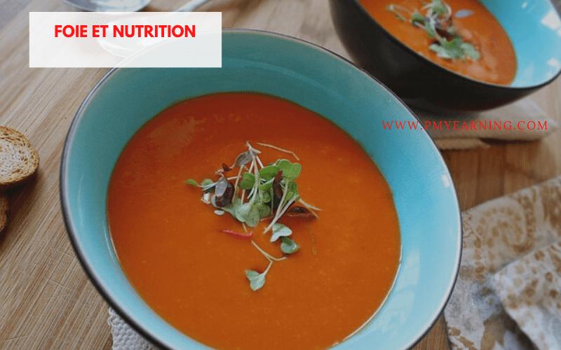 foie et nutrition
