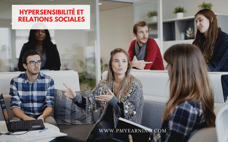 hypersensibilité et relations sociales