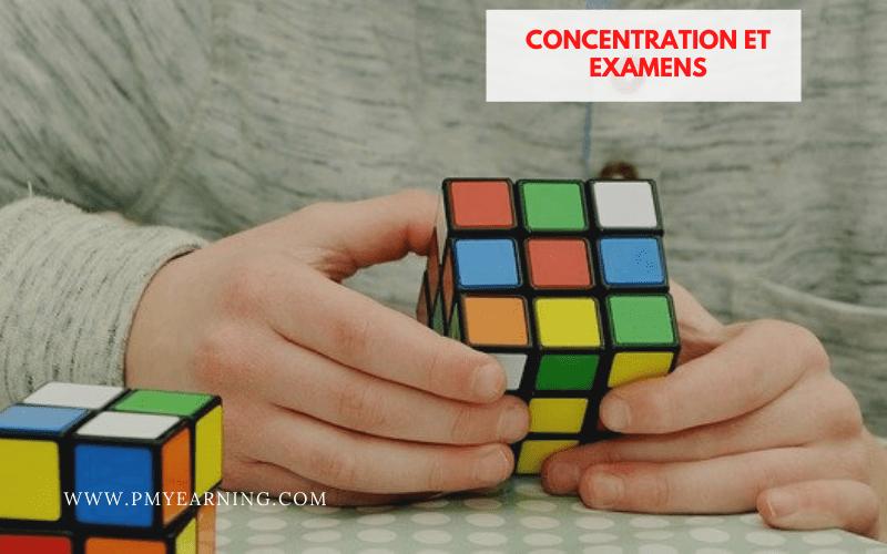 concentration et examens