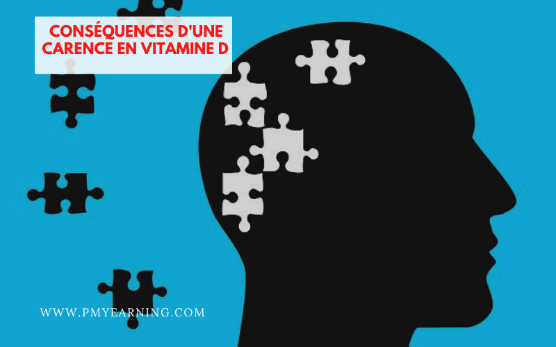 conséquences d'une carence en vitamine D