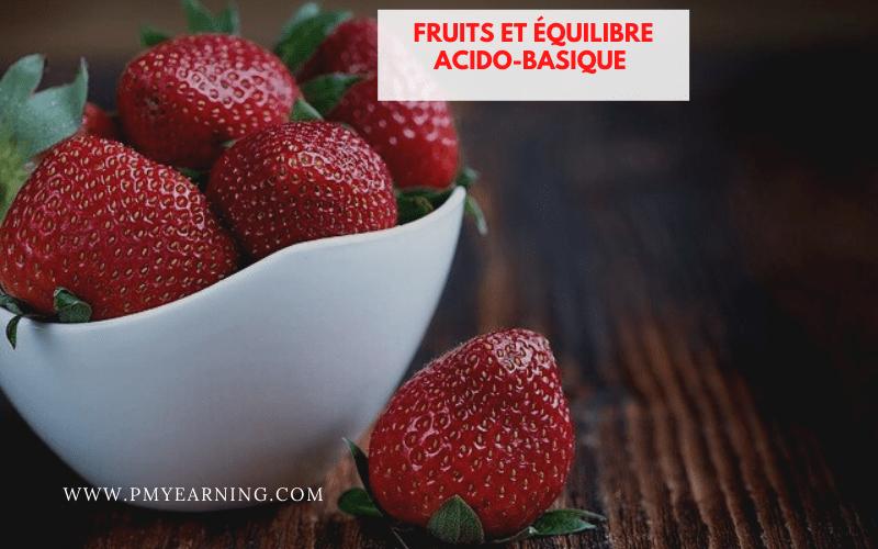 fruits et équilibre acido-basique