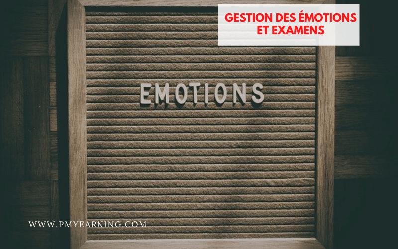 gestion des émotions et examens